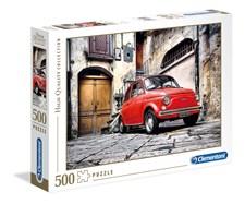 Pussel HQC, Fiat 500, 500 bitar, Clementoni