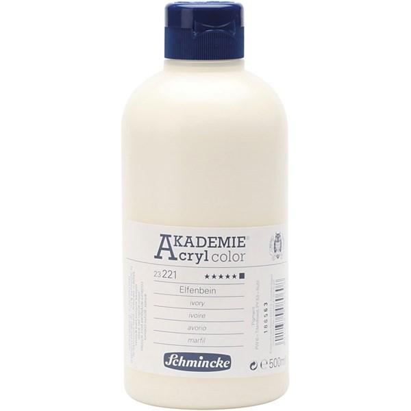 Schmincke AKADEMIE® Akrylmaling, 500 ml, alizarin crimson hue (343)