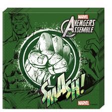 Hulk Servetit 20 kpl