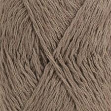 Drops, Belle Uni Colour, Garn, Bomullmiks, 50 g, Brun 05
