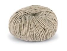 Du store Alpakka Tweed Garn Ullmix 50 g Beige 107