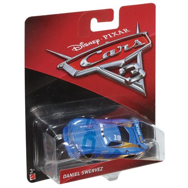 Diecast 1-pack  Daniel Swervez  Cars 3  Disney - leksaksbilar & fordon