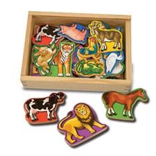 Wooden Animal Magnets, Melissa & Doug