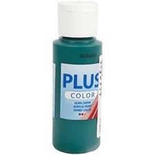 Plus Color-askartelumaali, 60 ml, dark green