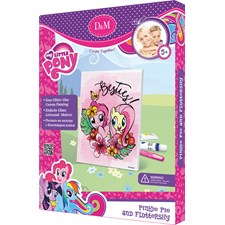 Måla din egen canvastavla, Pinkie Pie & Fluttershy, My Little Pony