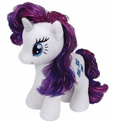 Rarity, bamse, 41 cm, My Little Pony