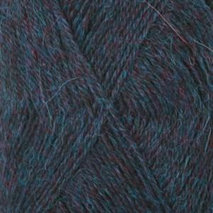Drops Alpaca Mix 50g Blå/Turkos (6834)