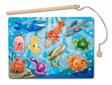 Fishing- Magnetpussel, Melissa & Doug