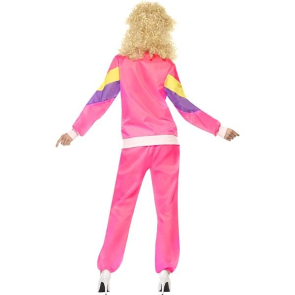 ... träningsoverall 80-talets högsta mode  Rosa träningsoverall 2bf149223c2fd