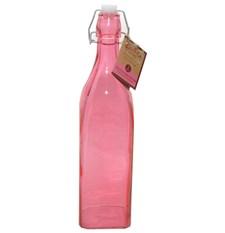 Flaske med patentkork, 1 L, Rosa, Kilner