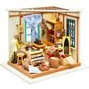 DIY minihuone ompelimo, kork. 19 cm, lev. 22,5 cm, 1 kpl