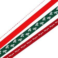 Presentband och Snöre Jul