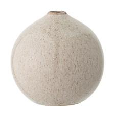 Bloomingville Vase Steintøy Diameter 12 cm, Høyde 12 cm Natur