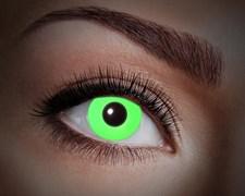 Värilliset linssit UV Flash Green