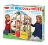 Dukkehus med møbler, 4 etasjer, Melissa & Doug