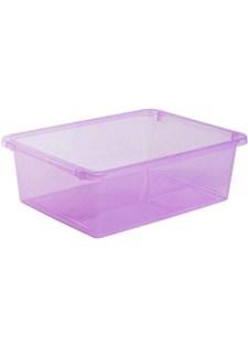 Säilytyslaatikko Store It 10 L läpinäkyvä Vaaleanpunainen.