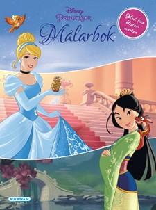 Disney Princess målarbok