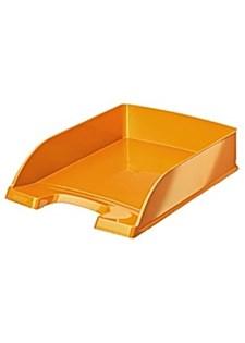 Kirjelokero LEITZ WOW Plus oranssi