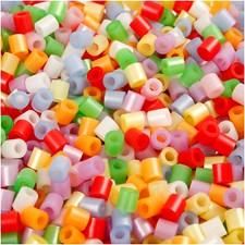 Rörpärlor 5x5 mm 6000 st Pärlemorsfärger