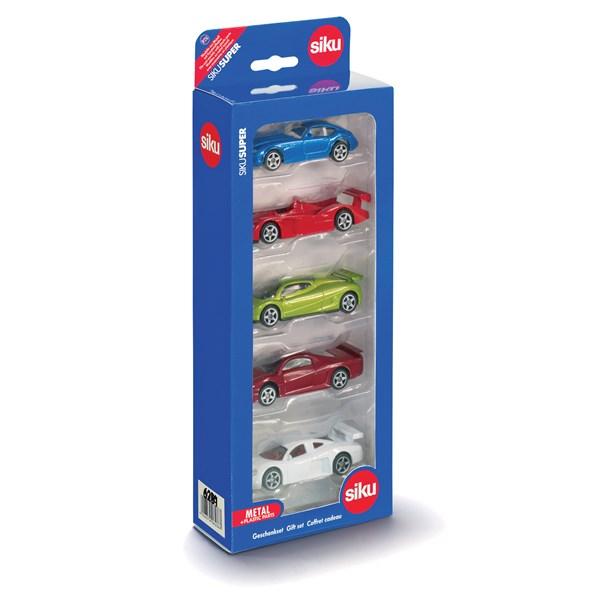 Sportbilar 5-pack  Siku - leksaksbilar & fordon