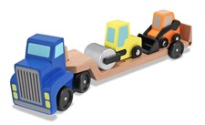 Kuljetusauto ja 2 työkonetta, Melissa & Doug