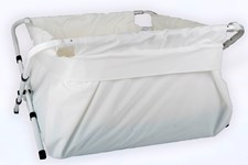 BiBaBad Flexi badkar, 60-80 cm Vit