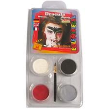 Ansiktsfärg Motiv Dracula 1 Set