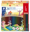 Noris® colour 24-pack färgpennor i WOPEX-material, 20 + 4 pack