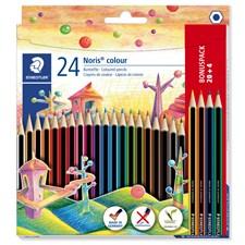 Noris® colour 24-pk fargeblyanter i WOPEX-material, kjøp 24 betal for 20. BONUSPAKKE