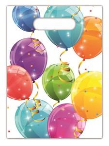 Glittrande Ballonger Godispåsar, 6 st