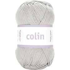 Järbo Colin Garn Bomullsmix 50g Silver Grey (28106)