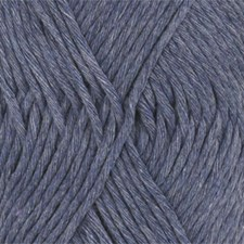 Drops Cotton Light Uni Colour Garn Bomullmix 50g Jeans Blue 26