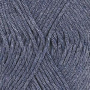 Drops, Cotton Light Uni Colour, Garn, Bomullmiks, 50 g, Jeansblå 26
