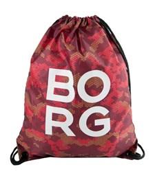 Borg Gymbag, Plommon Camouflage, Björn Borg
