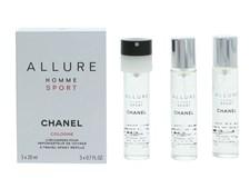 Chanel Allure Homme Sport Giftset 3x20ml