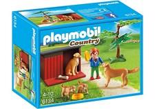 Kultainen noutaja ja pentu, Playmobil