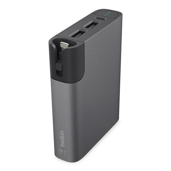 Powerbank 6600 Belkin MIXIT?™ Power RockStar™ Grey