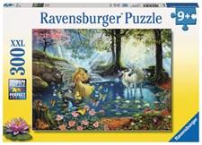 Enhörning och Älva, Pussel 300 bitar, Ravensburger