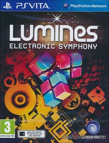 Lumines Electronic Symphony  UbiSoft - playstation vita