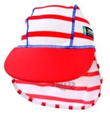 UV-hatt Sealife, röd, Swimpy (4-6 år)