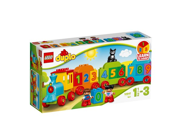 Siffertåg, LEGO DUPLO My First (10847)