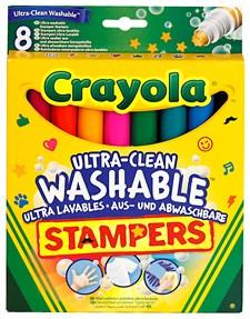 Stämpelpennor Tvättbara Crayola 8-pack