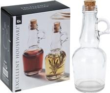 Glassflasker, Olje og eddik