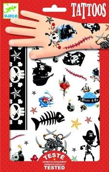 Tatueringar med pirater, Djeco