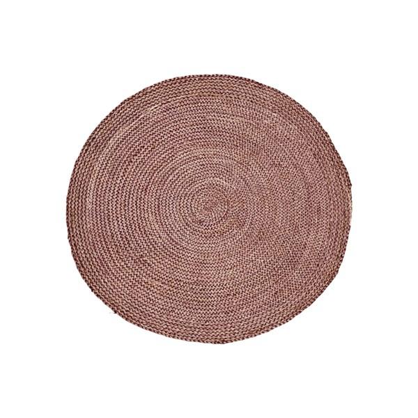 House Doctor Structure Matta 100% Jute D  100 cm Henna