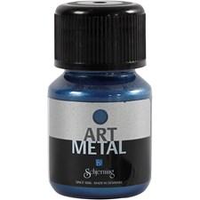Art Metall maling, galaxy blå, 30ml