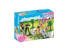 Morsiustyttö, sulhaspoika ja valokuvaaja, Playmobil City Life (9230)