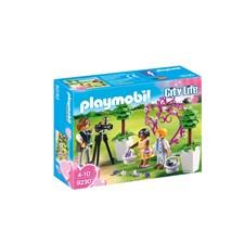 Blomsterbarn Med Fotograf, Playmobil City Life (9230)