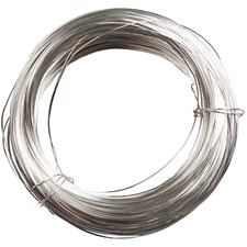 Metallilanka, paksuus 0,8 mm, 6m