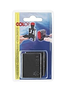 Leimasinvärikasetti COLOP E2100 musta (2 kpl)
